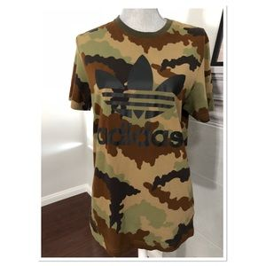 Adidas camouflage tee